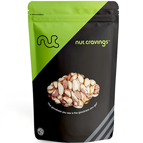 Nut Cravings Raw Brazil Nuts - Whole, Unsalted, No Shell Brazilian Nuts - SAMPLER - Pine Nuts Shell