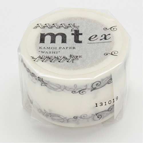MT Washi Masking Tape, 30mm x 10m, Decoration Black (MTEX1P42)