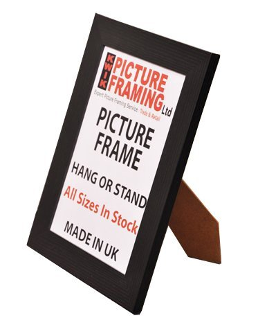 Flat Black Picture Frame 40mm (All Sizes Available) (15 x 10 Inch ...