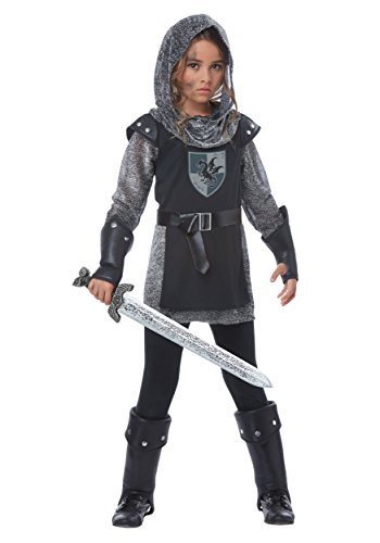 Noble Knight Girls Costume Black/Silver for $<!--$22.50-->