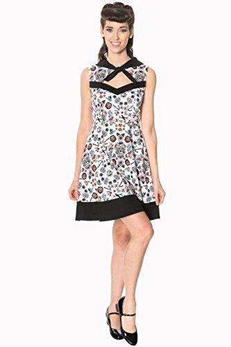 戦う管理者地域Banned Apparel - Hot As Heel Sleeveless Dress L