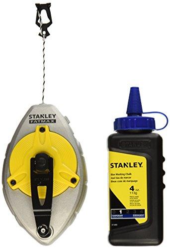 Stanley 47-482L 100-Foot FatMax Xtreme Chalk Box with 4 oz. Blue -