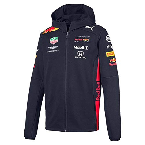 Mens Honda Team Jacket - PUMA Red Bull Racing F1 Team Sweatshirt