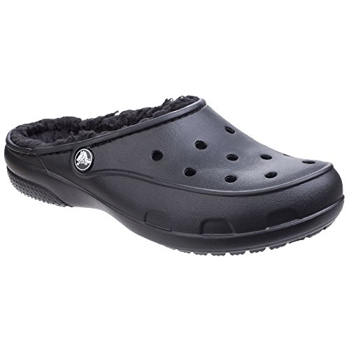 Plushlined Clog Blu Nero Zoccoli Crocs Freesail Donna 5Eq0g