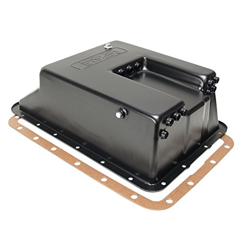 Derale 14208 Transmission Cooling Pan for Ford E4OD, 4R100, 5R110 - Transmission 4r100 Pan