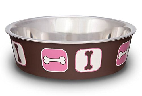 Loving Pets Cosmopolitan Bella Bowl, Small, Pink