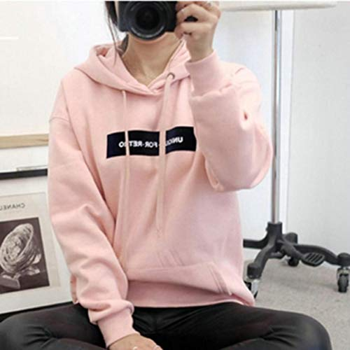 Zlolia Fashion Women's Long Sleeve Hoodie Sweatshirt Jumper Letter Pullover Tops Blouse by Zlolia-Blouses (Image #1)