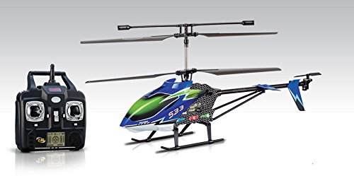 Syma S33 3 Channel RC Helicopter 2.4ghz (Color May Vary)