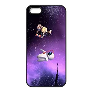 Wall E and Eve iPhone 5 5s Cell Phone Case Black yyfabd-233135