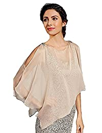 Rongstore Women's Chiffon Pashmina Shawls and Wraps