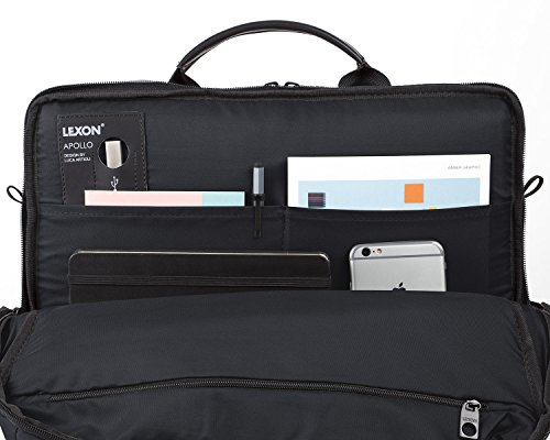Lexon Borsa a spalla, nero (nero) - LN1621N