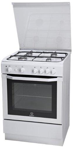 Indesit I6GG1F.1(W)/I Libera installazione Gas Bianco cucina: Amazon ...