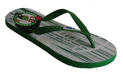 Herren Bianco Grün Verde für Flops Flip NBA PtCxqwPfg