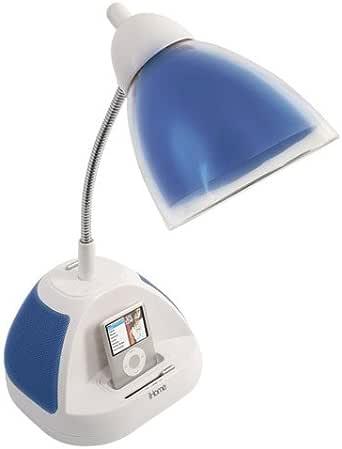 iHome iHL20-Blue Desk Lamp with iPod/MP3 Dock, Blue - - Amazon.com