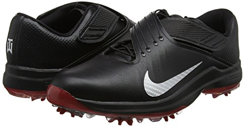 Pictures of NIKE Men's TW'17 Golf Shoes, Black/Metallic Silver-Anthracite, 9.5 M US 4