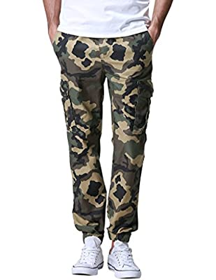 Match Mens Twill Jogger Pants