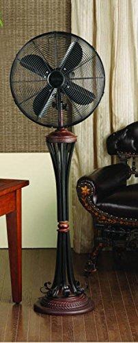 "52"" Extravagant Continental Scroll Design Oscillating Indoor"