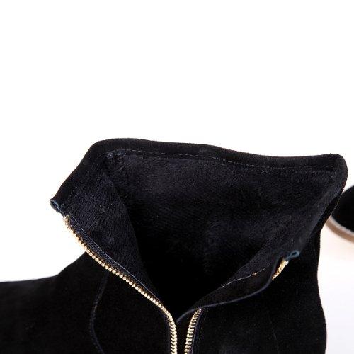 Alexis Leroy - Botas de tobillo de alta calidad - estilo elegante para mujer Negro