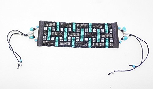 Geometric Weave Design Beaded Bracelet (J Renee Wrap)