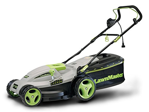 LawnMaster MEB1016M 10 Amp, 15-Inch Electric 2-in-1 Mower