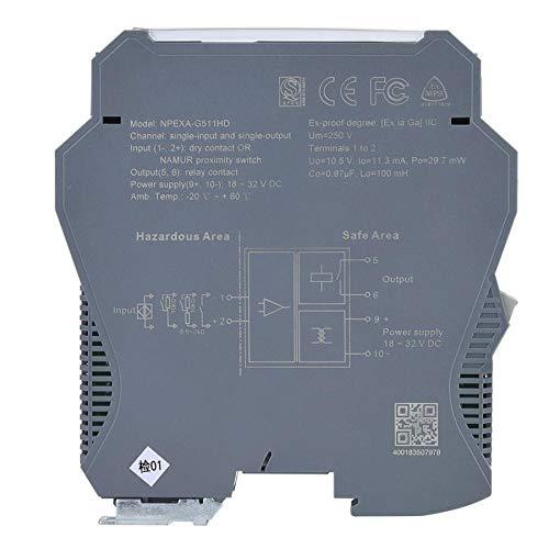 SHIJING Electric Signal Isolator Analog Input Output Signal Isolation 1 in 1 Out Isolation Transformer
