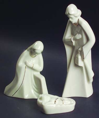 Mikasa Holy Night Nativity Set - 3 Piece