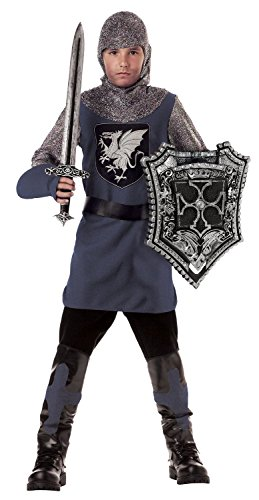 Valiant Knight Childrens Costumes (Valiant Knight Child Costume Small (6-8))