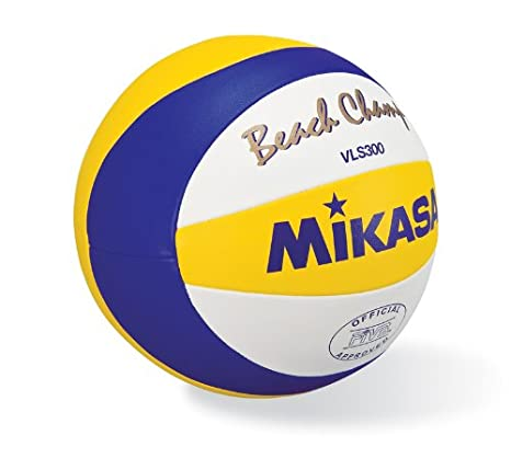 MIKASA VLS300 Volleyball Ball Azul, Color Blanco, Amarillo Balon ...