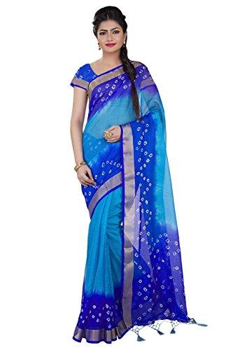 Royal Blue Saree - 8