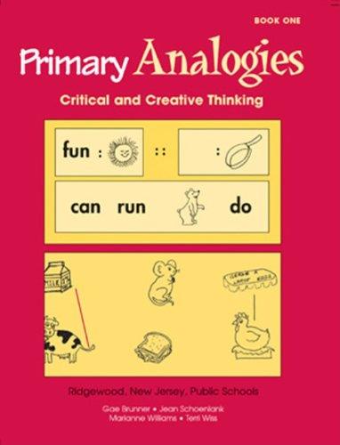 Primary Analogies Book 1 Grade - K1 Book