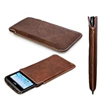 caseroxx Smartphone Case Business-Line Case Acer Liquid Z410 in brown