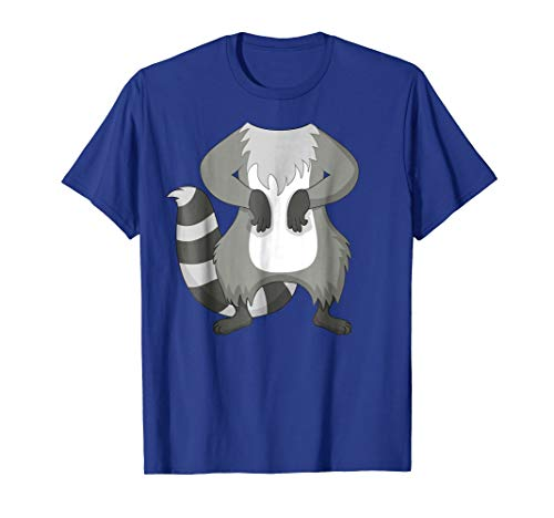 Raccoon Costume T-Shirt for Halloween Raccoon Animal