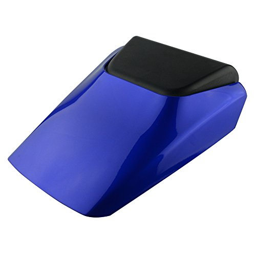 Tychemall Motorcycle Blue ABS Passenger Rear Pillion Seat Fairing Cover Cowl For Yamaha YZF R6 1998-2002 1999 2000 2001
