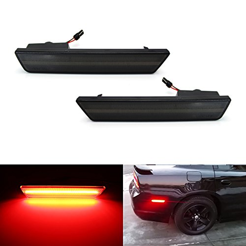 ijdmtoy-2-smoked-lens-rear-side-marker-lamps-with-36-smd-red-led-lights-for-2008-2014-dodge-challeng