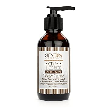 Kigelia & Licorice After-Sun Facial Wash Grown Alchemist Deep Cleansing Facial Masque - Wheatgerm, Ginkgo & Cranberry