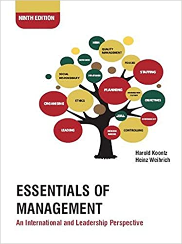 Management Book By Koontz