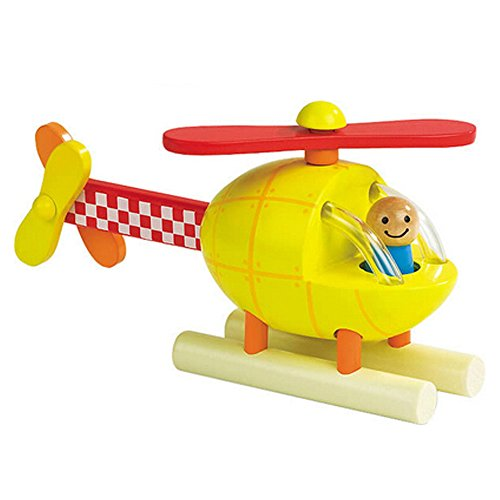 Funny Wooden Magnetic Aeroplane Airplane DIY Assembling Educational Toy Xmas Gift for Baby Boys Girls ¡­ (Gam Airplane Rc)