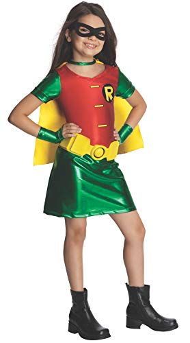 Teen Titans Child's Robin Costume Dress, Medium]()