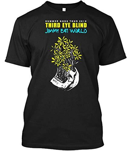 - Third Eye Blind Jimmy EAT World Tour 2019 1 Tee|T-Shirt Black