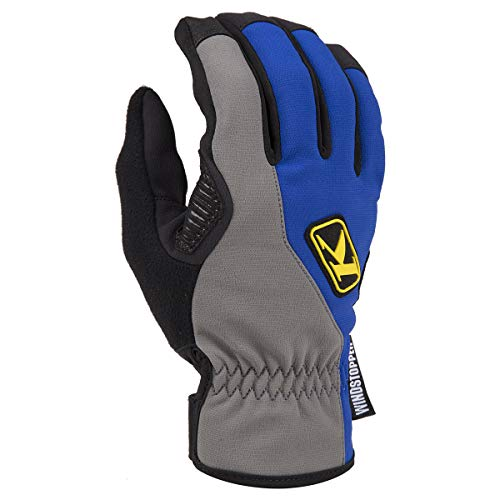 Touch Screen Large Overlay - KLIM Inversion Glove 2X Blue