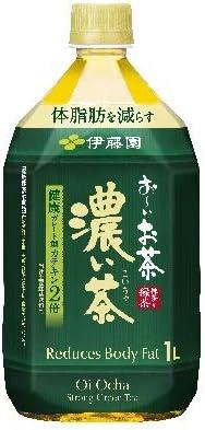 伊藤園 お~いお茶 濃い茶 PET 1L×12本入 〔機能性表示食品:届出番号D659〕