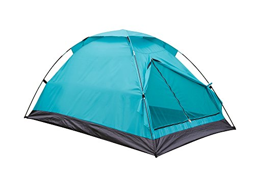 Camping Tents Outdoor Travelite Backpacking Light-Weight Family Dome Tent 2 Person 2 Season Hiking Fishing Instant Portable Shelter w/ Easy Set-Up By Alvantor (Teal, 2 Person)
