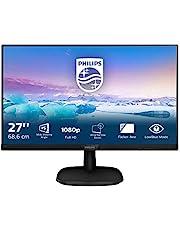 Philips 273V7QDAB/00 68 cm (27 tum) skärm (VGA, DVI, HDMI, 5 ms reaktionstid, 1920 x 1080, 60 Hz med högtalare) svart