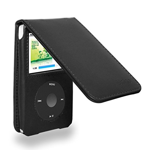 120 Ipod (Ipod Classic Leather Flip Case for 120/160)