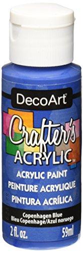 DecoArt Crafter's Acrylic Paint, 2-Ounce, Copenhagen - Copenhagen To In What Buy