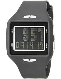 'Helm' Quartz Plastic and Polyurethane Sport Watch, Color Grey (Model: HLMDP28)