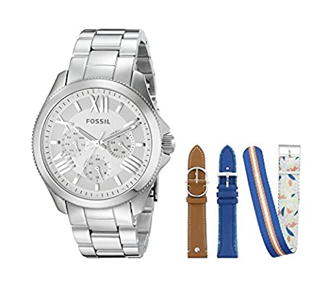 Fossil Women's LE1036 Cecile Analog Display Analog Quartz Watch with Interchangeable Straps (Fossil Limited Edition)