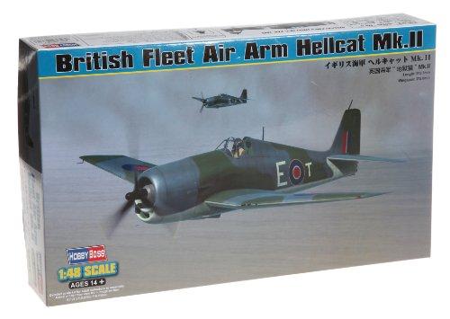 Hobby Boss British Fleet Air Arm Hellcat Mk.II Airplane Model Building Kit