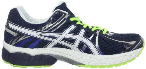 Asics Mens Gel-flux Running Shoe Navy / Bianco / Flash Giallo