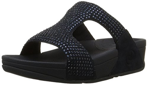 Crystal Rokkit Supernavy FitFlop Sandal Blue Slide Women's S6nwB